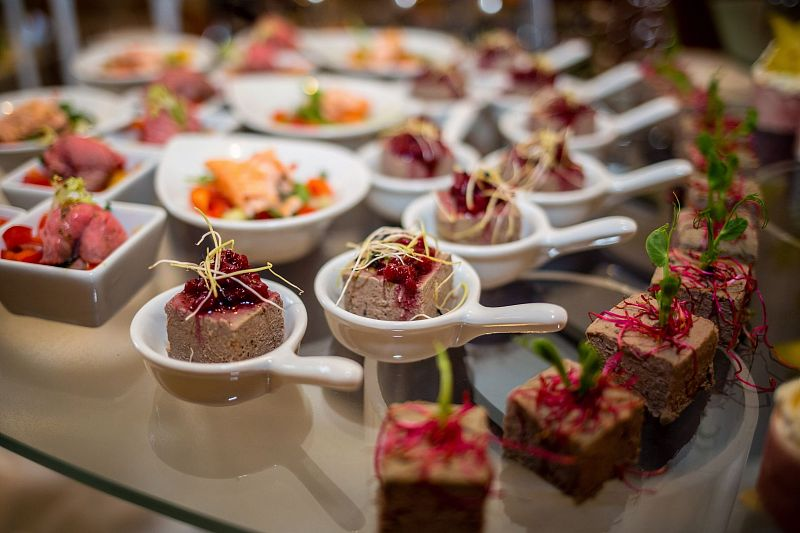 Professional catering not only for wedding receptions